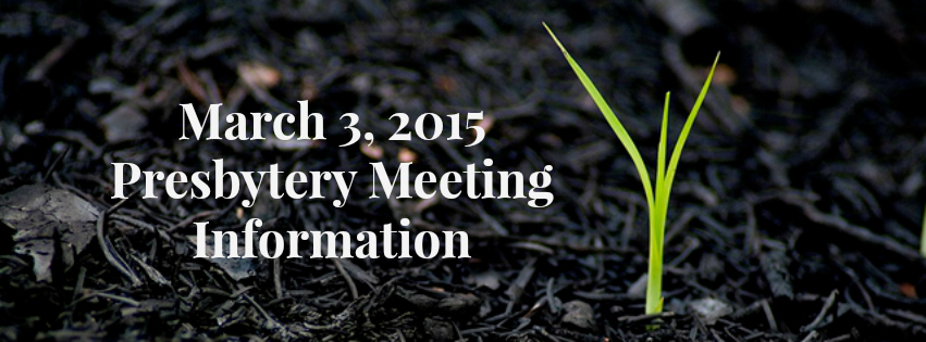 March 2015 Meeting Banner